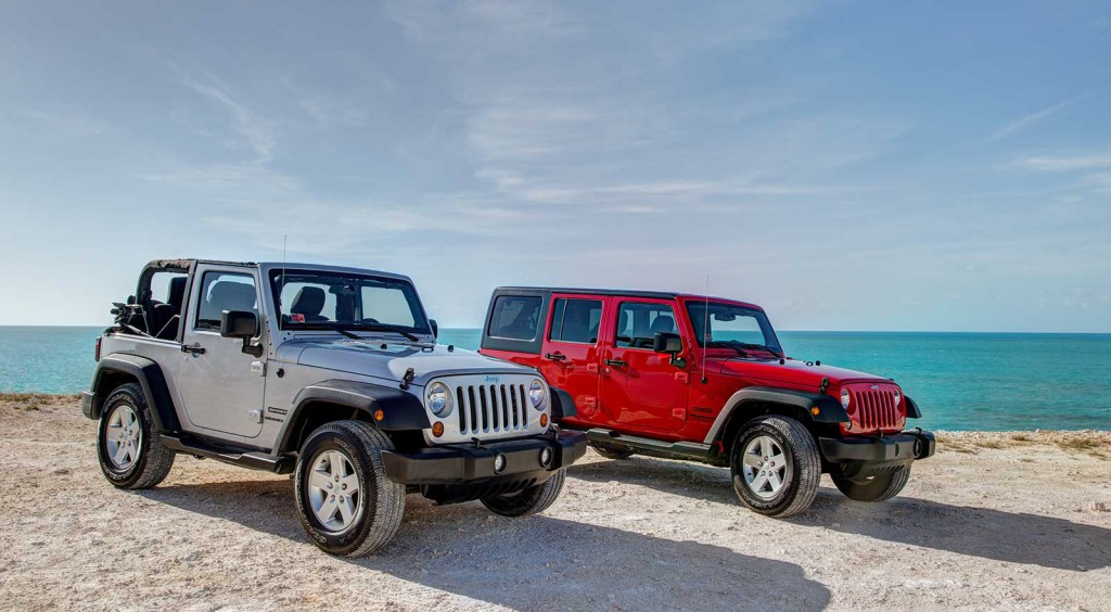 Jeep Rentals Turks and Caicos