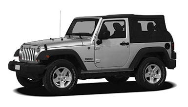 Standard (SJAR) Jeep Wrangler or similar